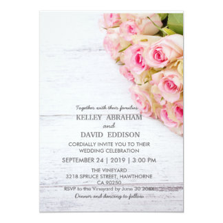 Beatiful Floral wedding Invitation