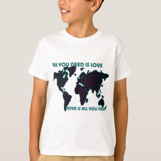 Beatles World All You Need Is Love T-shirt
