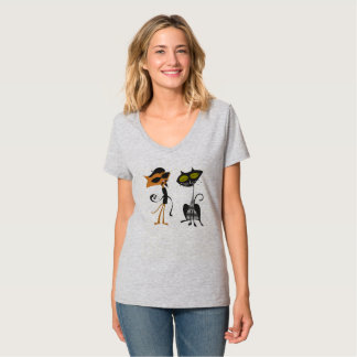 Beatnik Kat Couple T-Shirt