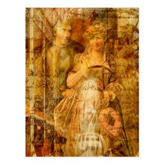 Beatrice and Benedick Postcard