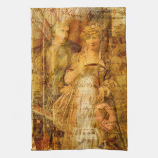 Beatrice and Benedick Tea Towel