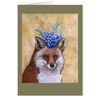 Beatrice the fox card