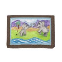 Beatrix And Bernie Make A Heart Tri-fold Wallet