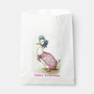Beatrix Potter, Jemima Puddle Duck, Favour Bag