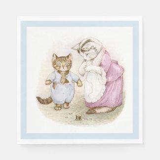 Beatrix Potter, Tom Kitten, Custom Disposable Serviette
