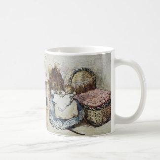Beatrix Potter Two Bad Mice Mug: Stealing is Wrong Coffee Mug