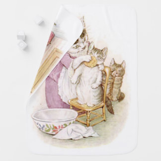 Beatrix Potter, Two Sided, Tom Kitten, Custom Baby Blanket