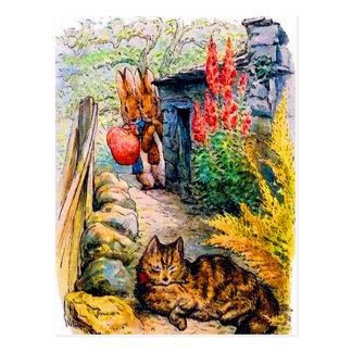 Beatrix Potter Visitors Postcard