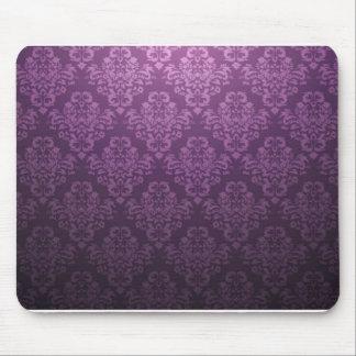 Beau Fleur De Lis - Purple Mouse Pad