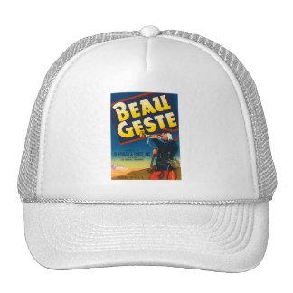 Beau Geste Vintage Crate Label Hat
