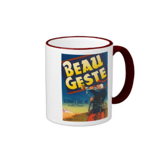 Beau Geste Vintage Crate Label Mugs