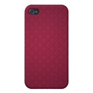 Beau Spots Red iPhone Cover Case For iPhone 4