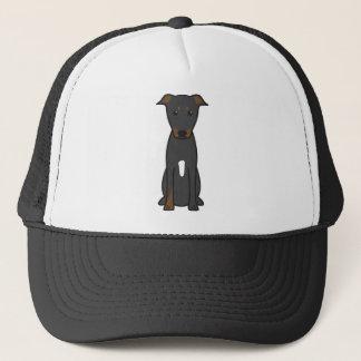 Beauceron Dog Cartoon Trucker Hat