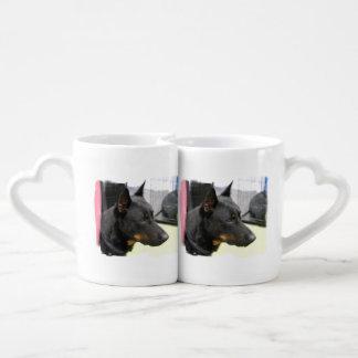 Beauceron Dog Couples Mug