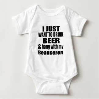 Beauceron Dog Designs Baby Bodysuit