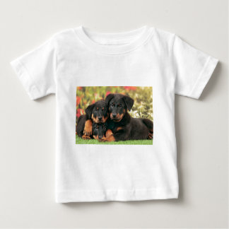 Beauceron Puppies Best Buds Baby T-Shirt