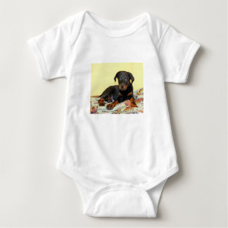 beauceron puppy baby bodysuit
