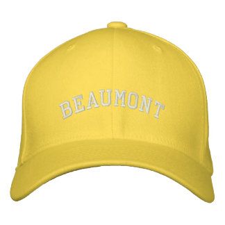Beaumont Embroidered Baseball Caps