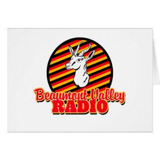 Beaumont Valley Radio Card