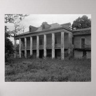 Beauregard House Print