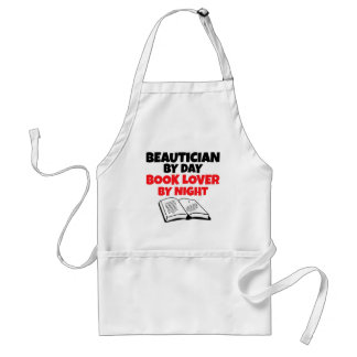 Beautician by Day Book Lover by Night Standard Apron