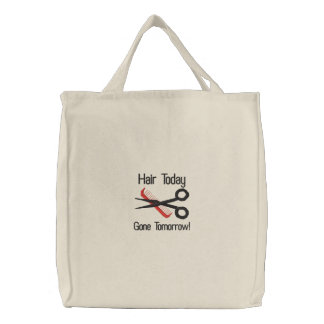 Beautician Embroidered Bag