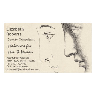 Beautician, Salon or Designer French Classic Pack Of Standard Business Cards
