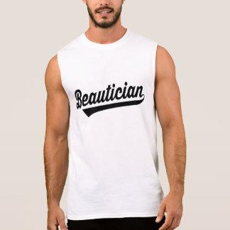 Beautician Sleeveless Shirt