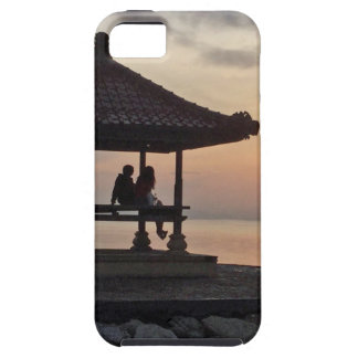 Beautidul sunrise in Bali iPhone 5 Case