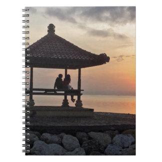 Beautidul sunrise in Bali Notebook
