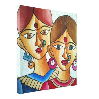 Beauties Gallery Wrapped Canvas