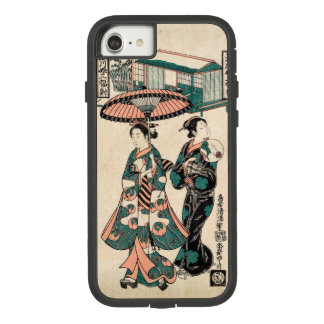 Beauties from Fukagawa (Vintage Japanese print) Case-Mate Tough Extreme iPhone 8/7 Case