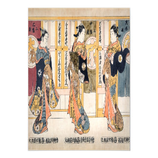 Beauties of the three capitals triptych magnetic card