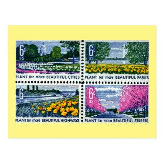 Beautification of America, Plant More! Vintage Postcard