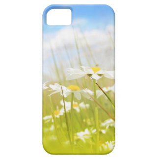 Beautifufl spring meadow background case for the iPhone 5