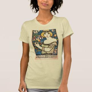 Beautiful 1896 Art Nouveau Design T-Shirt