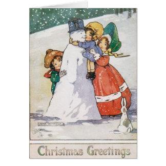 Beautiful 1920s Christmas Card
