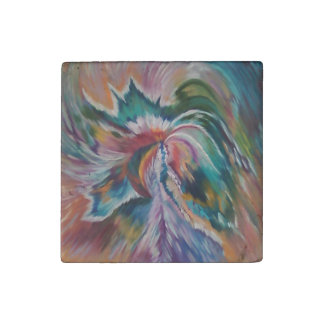 Beautiful Abstract Angel Kitchen Magnet
