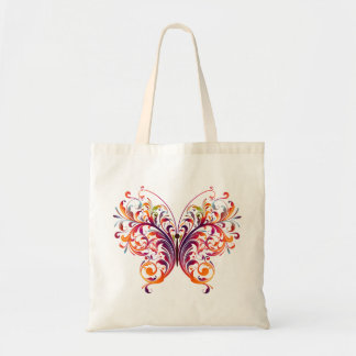Beautiful Abstract Butterfly Budget Tote Bag