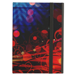 Beautiful Abstract Chevron Light Rays Design Cover For iPad Air