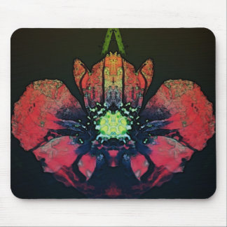 Beautiful abstract floral mouse mat