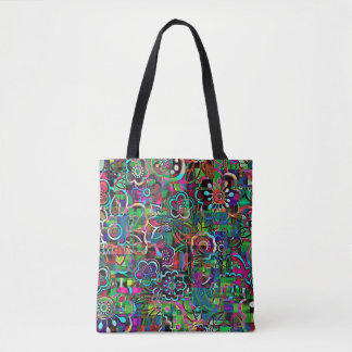 Beautiful  Abstract  flowers Tote Bag