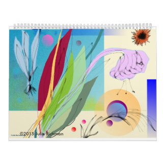 Beautiful Abstract Nature Calendar