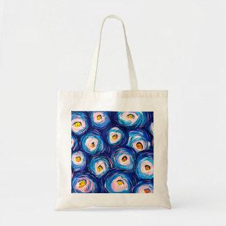 Beautiful Abstract Watercolour Budget Tote Bag