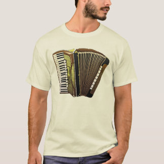 Beautiful Accordion Musical Instrument T-Shirt
