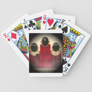 Beautiful African Ethnic Tribal Masai Ornaments.pn Poker Deck