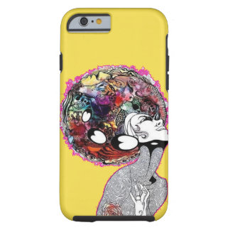 Beautiful Afro Art iPhone Case