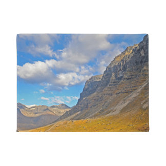 Beautiful Alaska Mountains Doormat