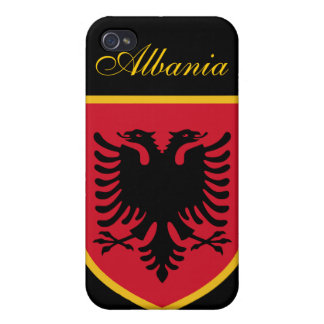 Beautiful Albania Flag iPhone 4 Case