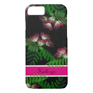 Beautiful Albizia Tree Of Happiness Chinese Flower iPhone 8/7 Case